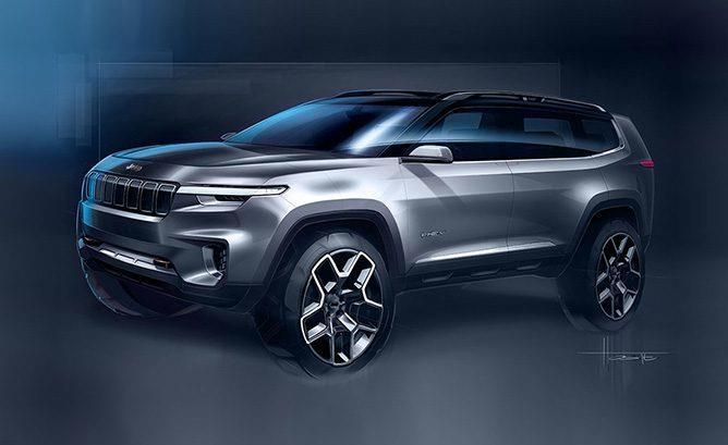 Hybride rechargeable : Jeep présentera son concept Yuntu à Shanghai