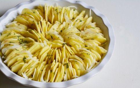 Torta di patate al forno croccanti