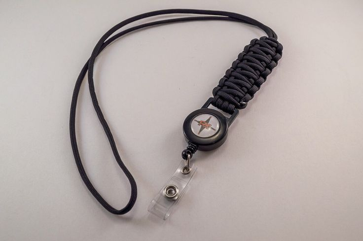 Paracord Neck lanyard with badge reel- Neck Lanyard- Paracord Lanyard- Mens Lanyard- Womens Lanyard- Neck ID Badge by RuggedXessories on Etsy https://www.etsy.com/listing/104397267/paracord-neck-lanyard-with-badge-reel