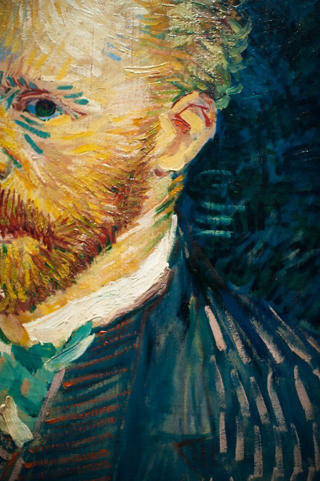 Van Gogh Close-up // DfB: Postcards from Paris: The Museum Life