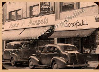 Borofski's Market Main Street Nanticoke.