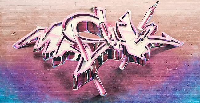 Graffiti by me. Mr Shiz http://mrshiz.com/