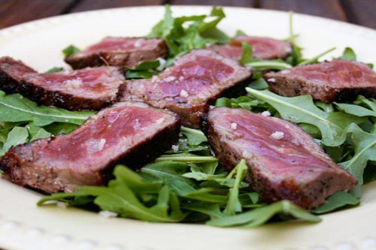 Beef Tagliata with White Truffle Oil - Truffle Traders