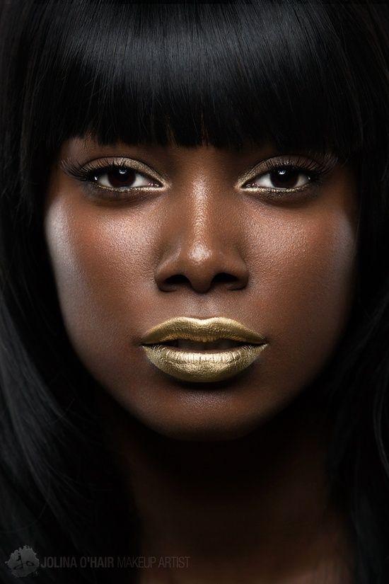 dark skin girls pron