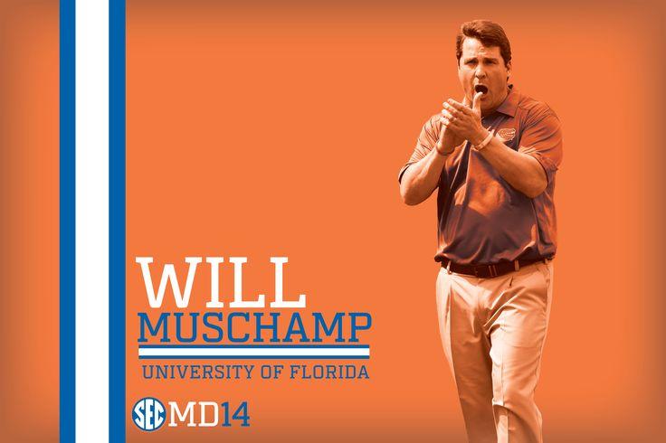 Florida head coach Will Muschamp.