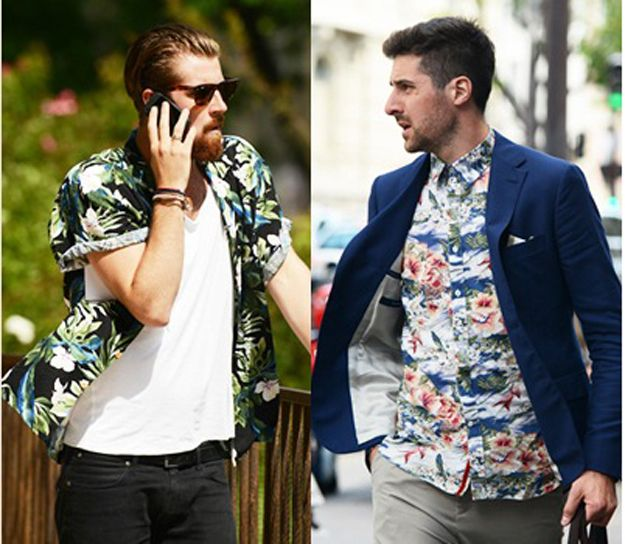 Image result for andy dunn gives interview wearing hawaiian shirt