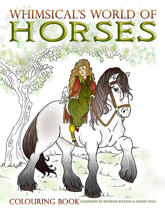 Horse Coloring Book, horse coloring pages, Colouring books ...
