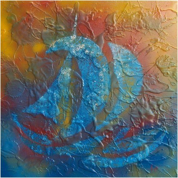 ... Peinture Bleue, Couleurs De Peinture Marine et Couleurs De Peintures