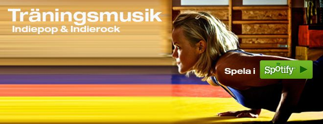 Träningsmusik - Spotify /  #indiemusik #träning #musik #indie #pop #rock #sport #playlist #spotify