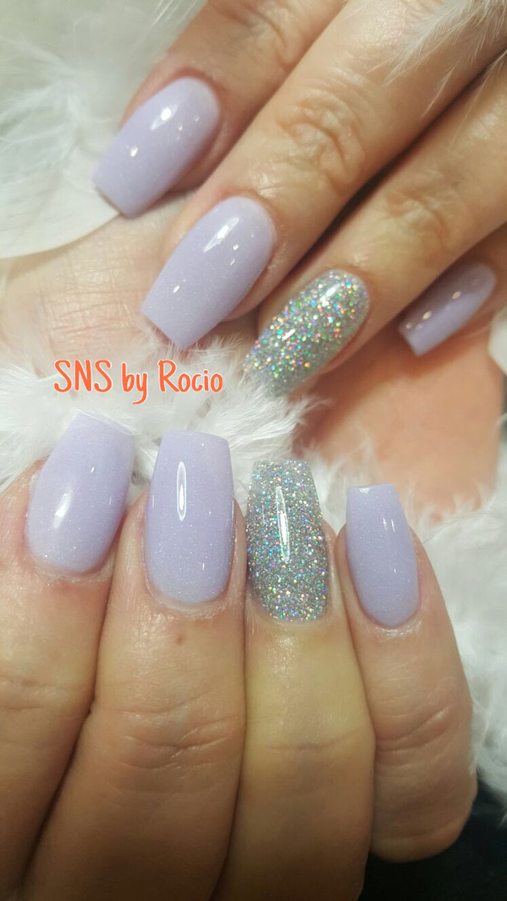 SNS nails (dipping powder) by Rocio !