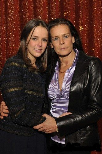 Princess Stephanie of Monaco, with her daughter, Pauline