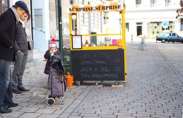 Crepes am Wiener Kutschkermarkt
