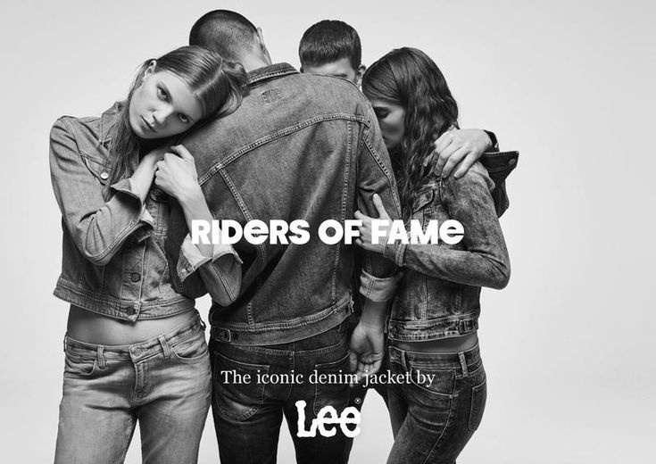 Lee Jeans - Lee Jeans Riders of Fame Campaign Spring 2017