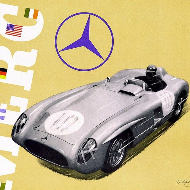 Excellence is a lifelong pursuit, Mercedes-Benz motorsport poster from a bygone era. - http://tynanmotors.com.au/tynan-news-blog/excellence-is-a-lifelong-pursuit-mercedes-benz-motorsport-poster-from-a-bygone-era/