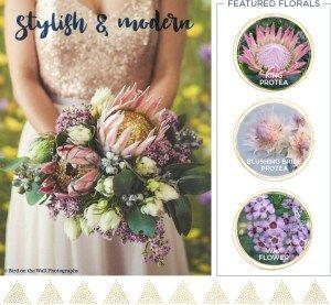 Modern and Stylish Fall Wedding Bouquet