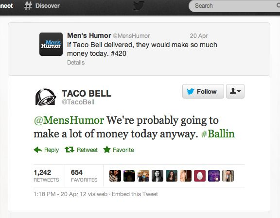 The Best Of Taco Bell's Twitter Account - hahahahahahahahaha best thing ever. Click the picture!!!!