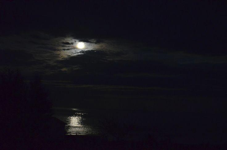 Lune de nuit.