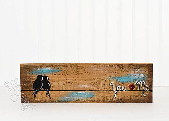 5th Anniversary Gift Reclaimed Wood Art Wood от LindaFehlenGallery