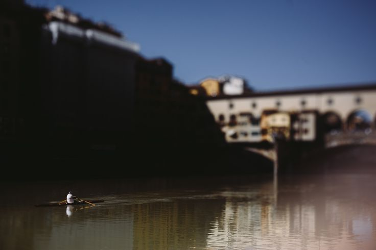 Rowers in Florence • Fine Art Photographer • Lucrezia Cosso
