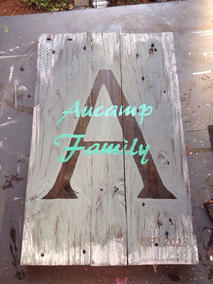 Aucamp family sign***