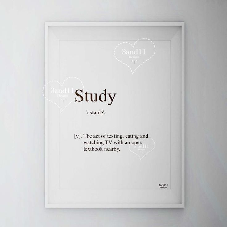 Study definition illustration instant download art *** 3and11 Designs**** More products in our store: www.craftsy.com/profile/3and11-designs Blog:3and11designs.blogspot.com Follows in Instagram, Twitter, Facebook, Pinterest, Bloglovin and Google+ (3and11_designs)