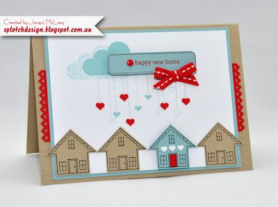 Splotch Design - Jacquii McLeay Independent Stampin' Up! Demonstrator: You Brighten My Day Stamp Set