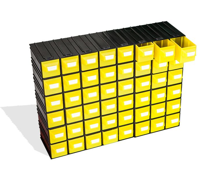"Drawer systems "" Puma 202 "" - yellow!"