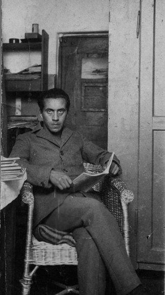 Ernst Toller during imprisonment in Niederschönenfeld, 27. August 1920