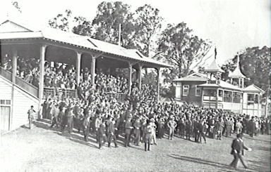 Menagle raceway 1916, courtesy of Campbelltown library