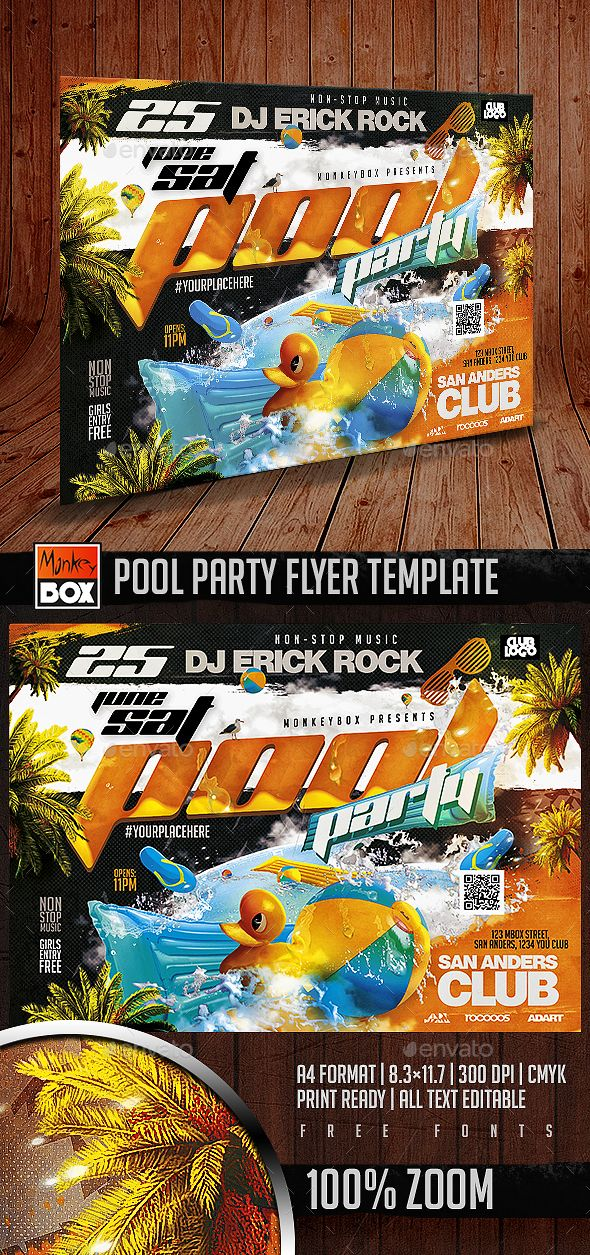 Best College Party Flyers Images On   Party Flyer