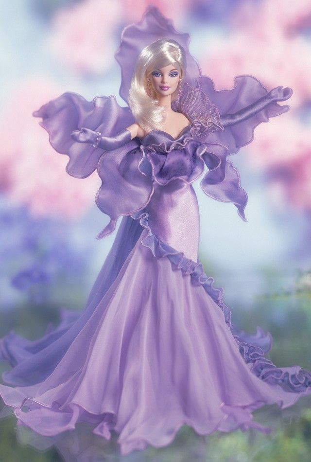 50319 Flowers in Fashion The Orchid Barbie