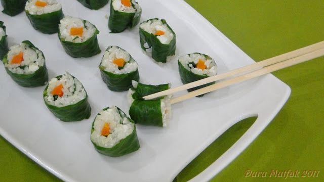 Duru Mutfak - Pratik Resimli Yemek Tarifleri: Yalancı Suşi