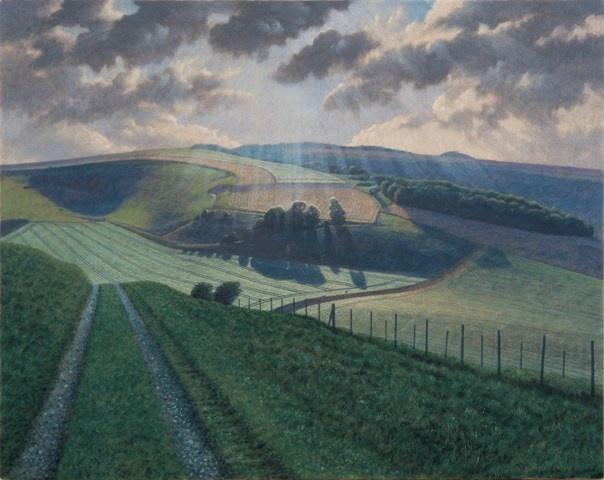 """""""White Cliff Down"""", James Lynch. www.james-lynch.co.uk"""