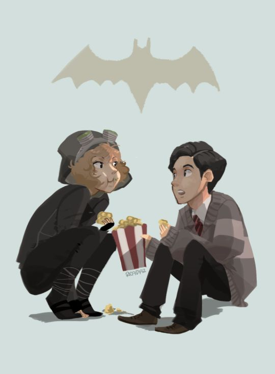Gotham - Cat and Bruce