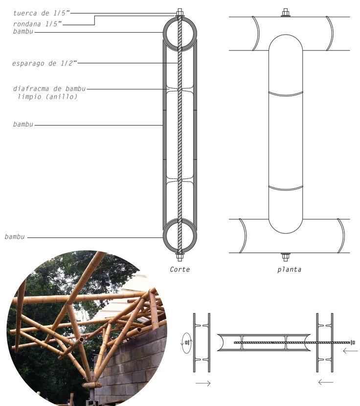 Galería - México DF: taller de construcción con bambú levanta 22 pabellones experimentales en la UNAM - 55