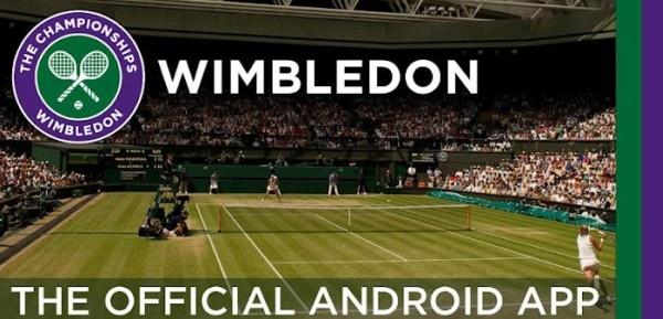 ¿Te gusta el tenis?Entonces sigue el torneo de Wimbledon desde tu Android