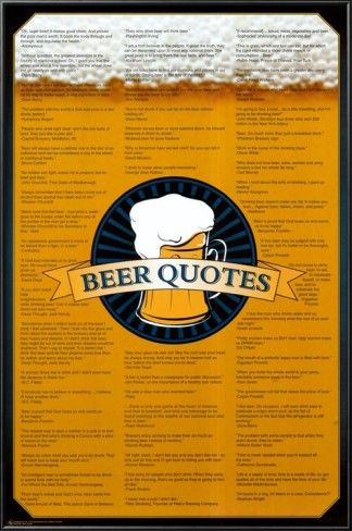 beer quotes funny | Beer Quotes Poster at AllPosters.com