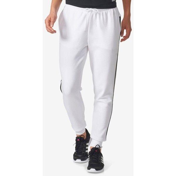 adidas Tiro Fleece Joggers ($45) ❤ liked on Polyvore featuring activewear, activewear pants, adidas activewear, adidas sportswear and adidas