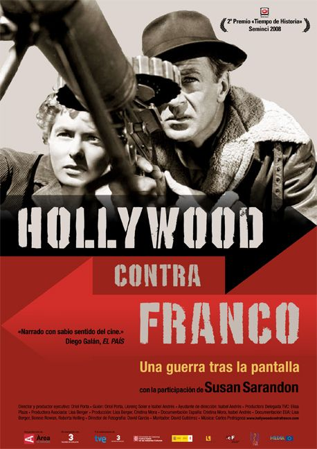 "cartel de ""Hollywood contra Franco"""