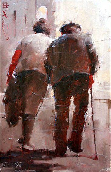 Andre Kohn, Figurative Impressionist Painter