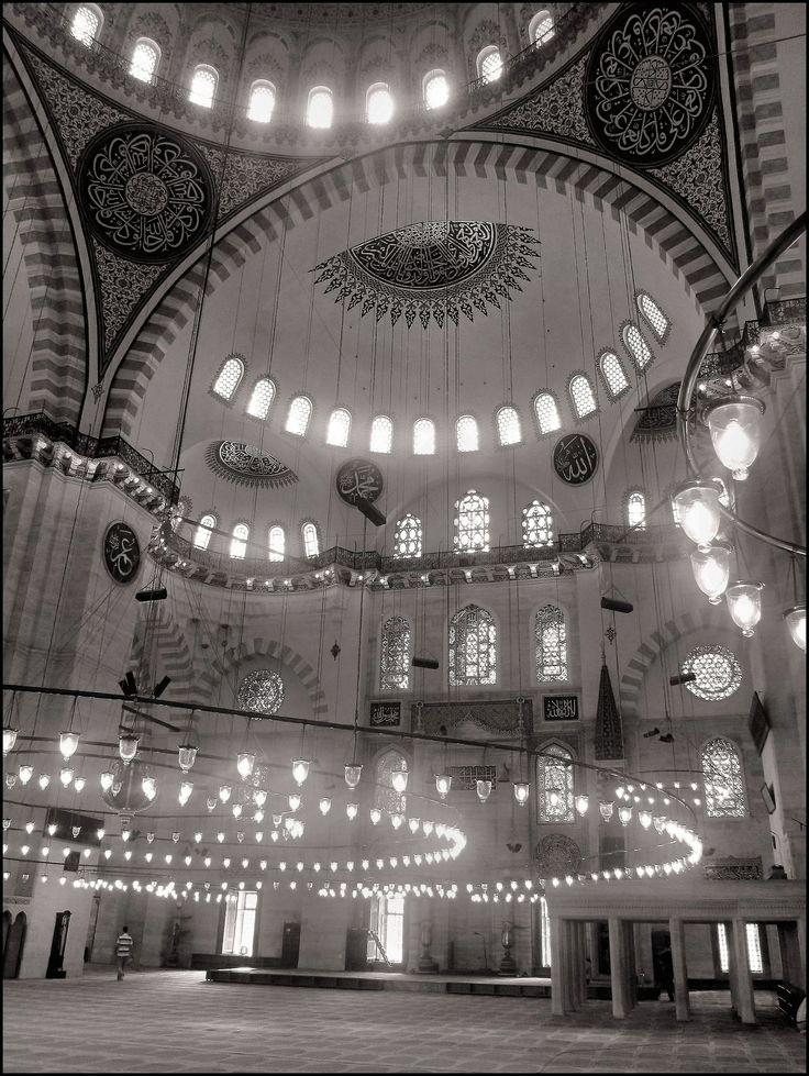 Suleymaniyyè - Istanbul. Suleymaniyyè Mosque.