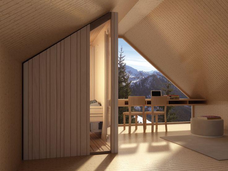 Sauna Auki De La Firma Effegibi. #interiorismo #saunas