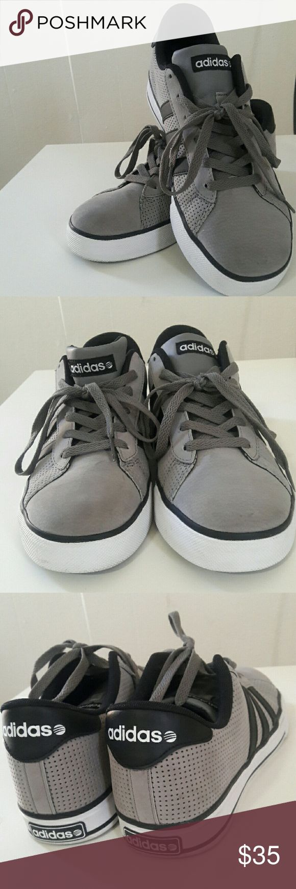 Mens Adidas Shoes Almost new Adidas Neo shoes for men size 8. These shoes have ortholite comfort foam insoles that make it heaven to anyone wearing them. Only worn twice still in excellent condition. adidas Shoes Sneakers