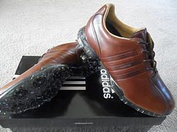 ADIDAS ADIPURE Z BROWN LEATHER WATERPROOF 67117