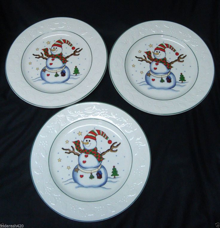 103 best CHRISTMAS PLATES images on Pinterest | Christmas ...