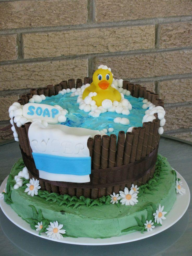 rubber ducky baby shower cake baker 39 s challenge pinterest