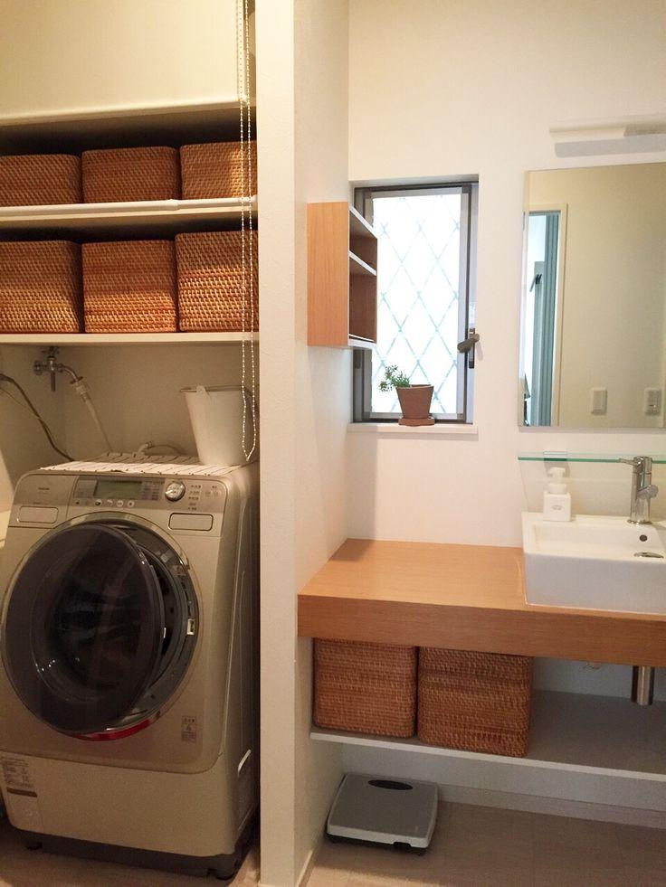 洗面室の全貌公開!収納はやっぱり無印。 | いちごのうた。のブログ - 楽天ブログ