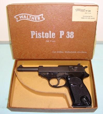 Boxed Walther P.1 (P. 38) Pistol. | Militaria | WARSTUFF