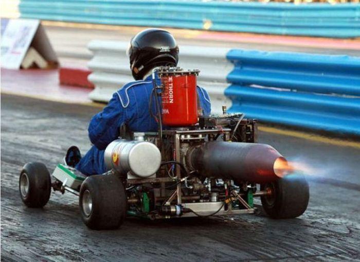 go karts + rocket power = awesome