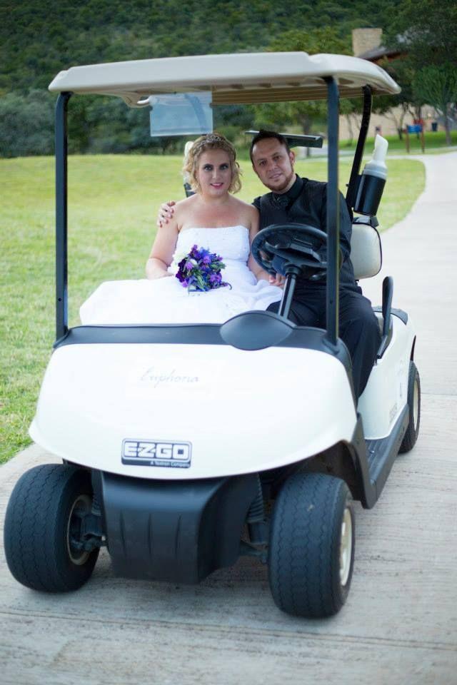 The latest wedding car